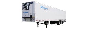 Mckinney refrigerated trailer