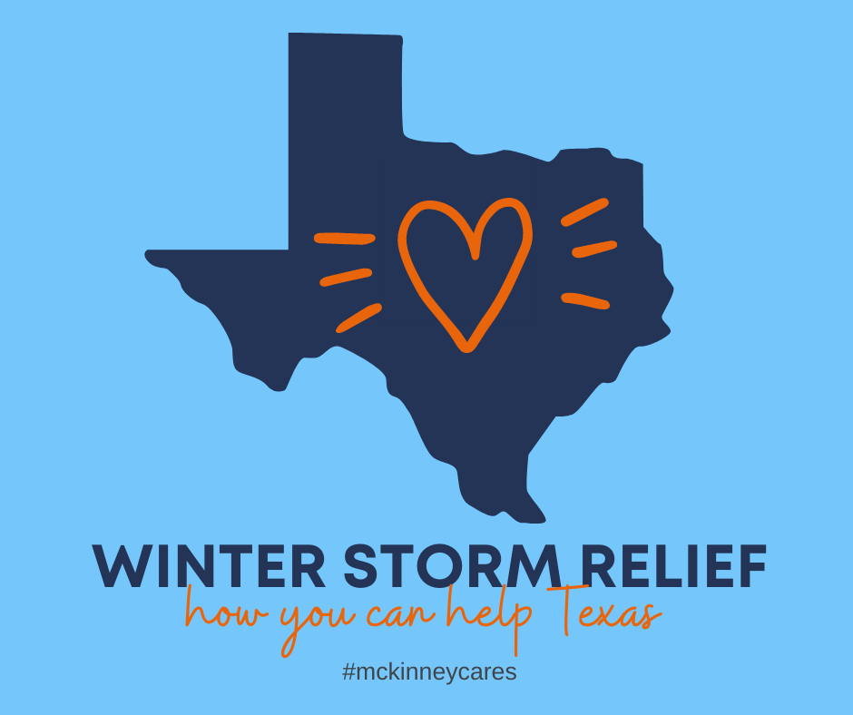 Texas Winter Storm Relief #mckinneycares